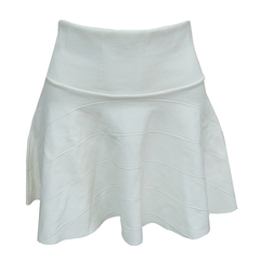 Saia Bandagem Rodada Off White Artsy Moda