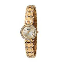 Relógio Feminino Analógico Dourado com Strass - modelo Moda - Séculus