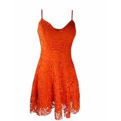 Vestido Guipir Laranja B.Boucle