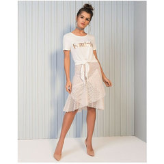 Blusa T-Shirt Femenist Branco Esmeral
