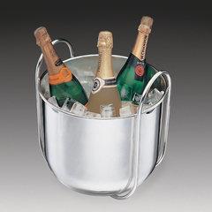 Balde de Gelo com Alça para Vinhos e Espumantes - Aço Inox - Wolff - 8665