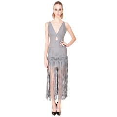 Vestido de Linho Detalhe Franjas Wagner Kallieno