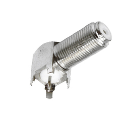 Conector F ChipSce 90 Graus Rosca  - 025-2070