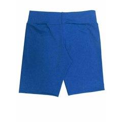 Short Curto Suplex Estampa Azul Allmare