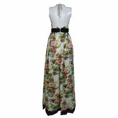 Vestido Liz Longo Floral Skazi
