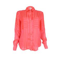 Camisa Listras Chiffon Litt'