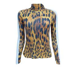 Blusa Flame Leopard Iódice