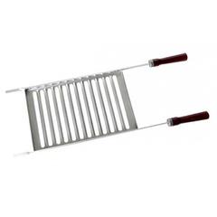 Grelha para Churrasco Alumínio Simples 84x29cm Mor - 3124