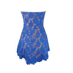 Vestido Guipir TQC Azul Litt'