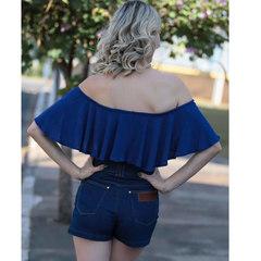 Short Cintura Alta Jeans Amapô