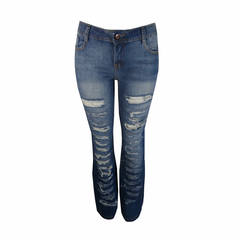 Calça Jeans Destroyed Iódice Denim