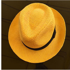 Chapéu Palha  Aba M Amarelo Malu Pires